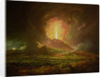 An Eruption of Vesuvius, seen from Portici by Joseph Wright of Derby