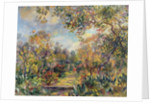 Landscape at Beaulieu by Pierre Auguste Renoir