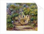The Farm at Les Collettes by Pierre Auguste Renoir