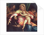 Madonna and Child with SS. Joseph and John the Baptist and a Donor by Sebastiano del Piombo