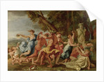 Bacchanal before a Herm by Nicolas Poussin