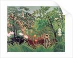 Exotic Landscape by Henri J.F. Rousseau
