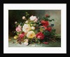A Bouquet of Roses by Eugene Henri Cauchois