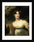 Portrait of Lady Emily Harriet Wellesley-Pole, later Lady Raglan by Sir Thomas Lawrence