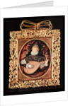 Queen Elizabeth I playing the lute by Nicholas Hilliard