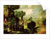 Landscape with Saints by Dosso Dossi