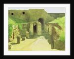 Italian Ruins by Ivan Nikolaevich Kramskoy