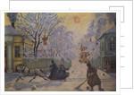 Frosty Morning by Boris Mihajlovic Kustodiev