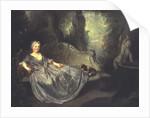 Portrait of a Lady in a Garden, 1730 by Nicolas Lancret