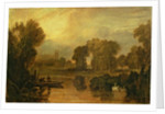 Eton College from the River, or The Thames at Eton by Joseph Mallord William Turner