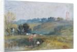 Landscape near Petworth by Joseph Mallord William Turner