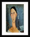 Hanka Zborowska with a Candlestick by Amedeo Modigliani