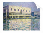 The Ducal Palace, Venice by Claude Monet