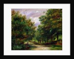 The road near Cagnes by Pierre Auguste Renoir