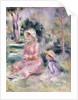 Madame Renoir and her son Pierre by Pierre Auguste Renoir
