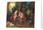 The Flight into Egypt by Frans & Govaerts