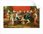 A Wedding Feast by Pieter the Younger Brueghel