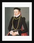 Portrait of a lady by Lorenz Strauch