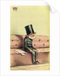 Lord John Russell cartoon from Vanity Fair by English School