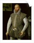 Portrait of Sir Walter Raleigh by William Segar