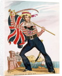 Mr E.F. Saville as 'Union Jack' by English School