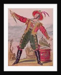 Mr. Osbaldiston as Andreas Hofer (Hoffer) the Tyrolese patriot leader by English School