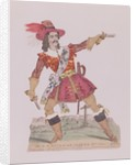 Mr. N.T. Hicks in the guise of the French highwayman Claude Duval by English School