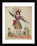 Madame Vestris in the role of Don Giovanni from Mozart's opera 'Don Giovanni' by English School