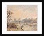 The Seine and the Louvre by Camille Pissarro