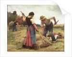 Haymaking by Julien Dupre