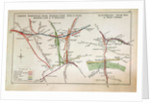 Transport map of London by English School
