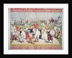 Poster advertising the Barnum and Bailey Greatest Show on Earth by American School