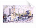 La Rochelle by Paul Signac