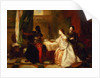 Othello Relating His Adventures to Desdemona by Robert Alexander Hillingford