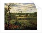 View of Highgate from Hampstead Heath by John Constable