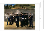 The Execution of the Emperor Maximilian, 1867-8 by Edouard Manet
