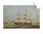 Full-rigged Ship 'Bremerhaven' ex 'Rochester' by Anonymous
