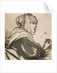 Portrait of Saskia by Rembrandt Harmensz. van Rijn