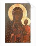 The Black Madonna of Jasna Gora by Russian School