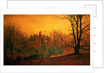 The Haunted House by John Atkinson Grimshaw