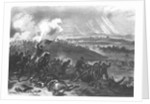 Battle of Gettysburg - Final Charge of the Union Forces at Cemetery Hill by American School