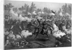 The Battle of Cedar Creek, Oct. 19th, 1864, pub. by Kurz & Allison, Chicago by American School