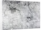 A section of a sheet from the survey of London and it's environs by John Rocque