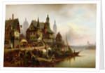 On the Shore by Wilhelm Meyerheim