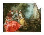 The Four Times of the Day: Midday by Nicolas Lancret