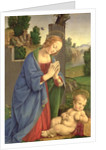 The Virgin Adoring the Child by Lorenzo di Credi