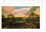 A Landscape with a Shepherd and his Flock by Peter Paul Rubens