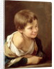 A Peasant Boy Leaning on a Sill by Bartolome Esteban Murillo