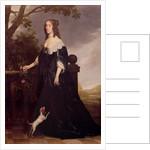 Portrait of Elizabeth Stuart, Queen of Bohemia by Gerrit van Honthorst