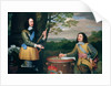 Portrait of Charles I and Sir Edward Walker by English School